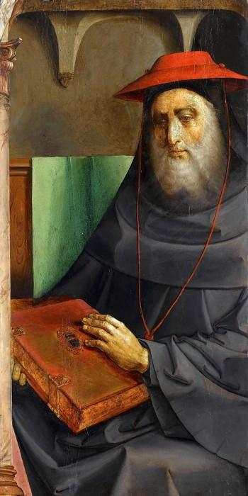 Joos van Wassenhove and Pedro Berruguete -- Cardinal Johannes Bessarion. Part 4 Louvre