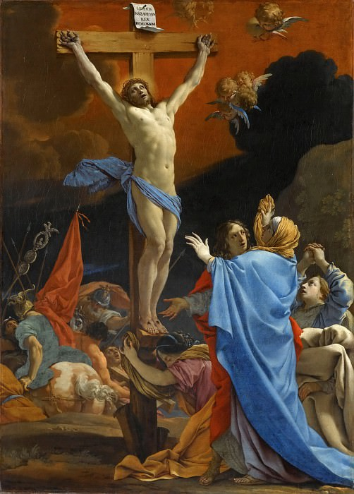 Michel Dorigny -- Christ on the Cross. Part 4 Louvre