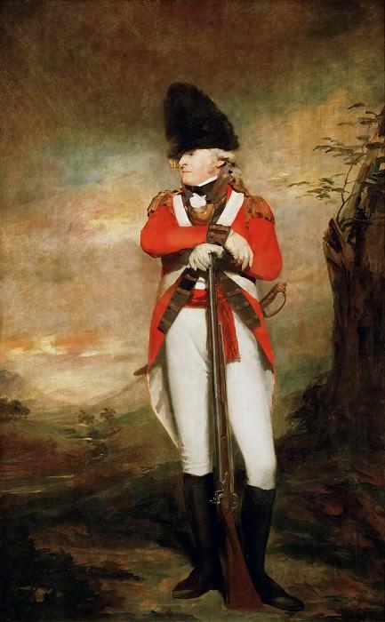 Henry Raeburn (1756-1823) -- Captain Hay of Spot. Part 4 Louvre