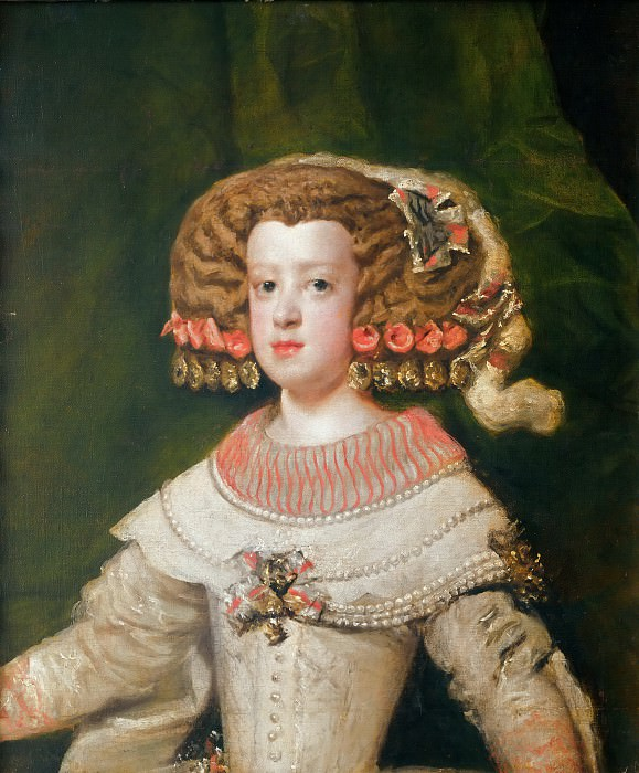 Portrait of Infanta Maria Thérèsa of Austria. Diego Rodriguez De Silva y Velazquez