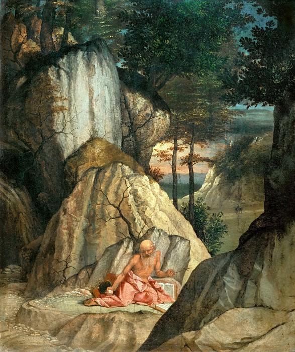 Lorenzo Lotto -- Saint Jerome. Part 4 Louvre