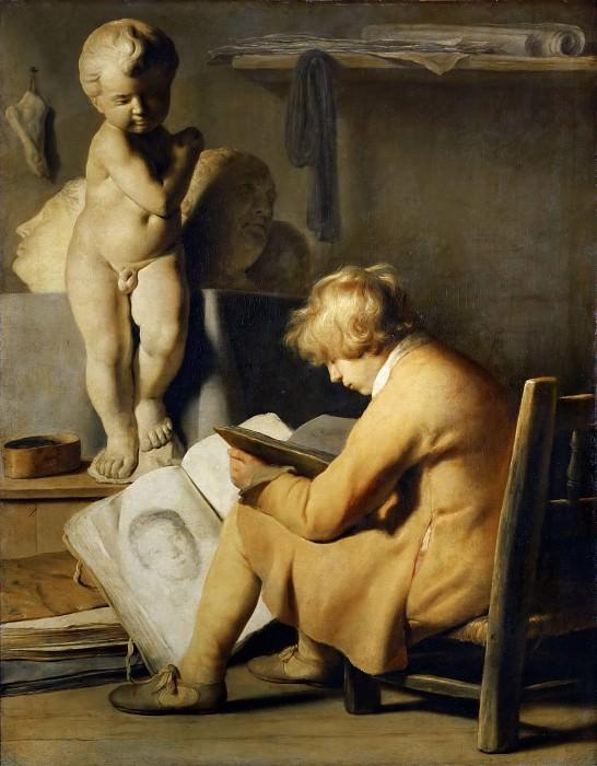 Jan Lievensz. -- The Young Draftsman. Part 4 Louvre