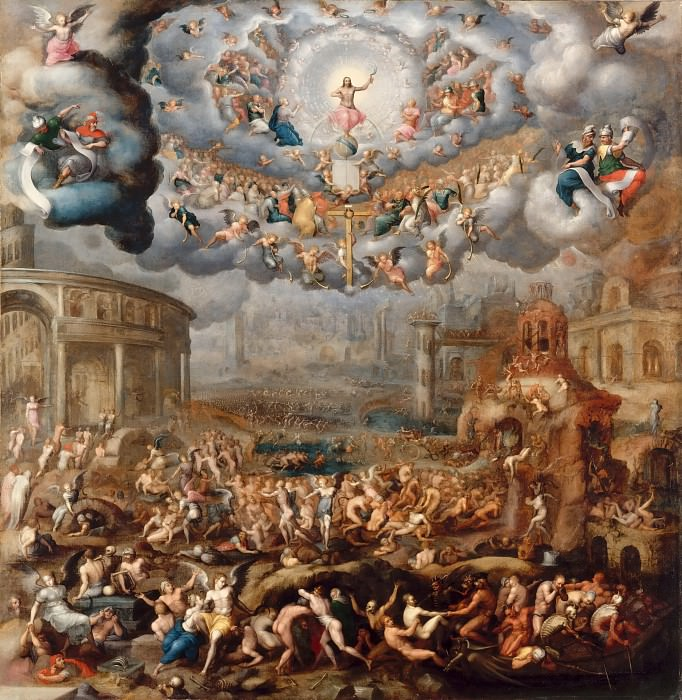 Jean Cousin the younger -- The Last Judgment. Part 4 Louvre
