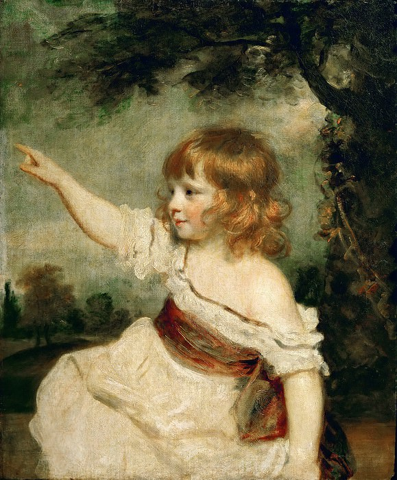 Joshua Reynolds (1723-1792) -- Master Francis George Hare (d. 1842). Part 4 Louvre