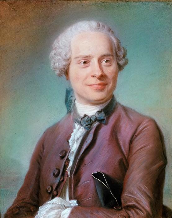Maurice-Quentin de La Tour (1704-1788) -- Jean d'Alembert (1717-1783). Part 4 Louvre