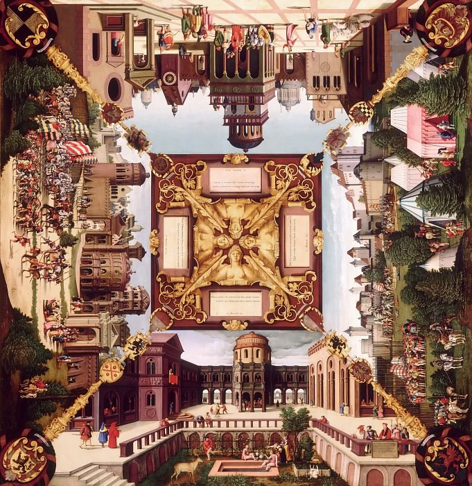 Бехам, Ганс Зебальд (1500 Нюрнберг - 1550 Франкфурт-на-Майне) -- Сцены из жизни царя Давида. часть 4 Лувр