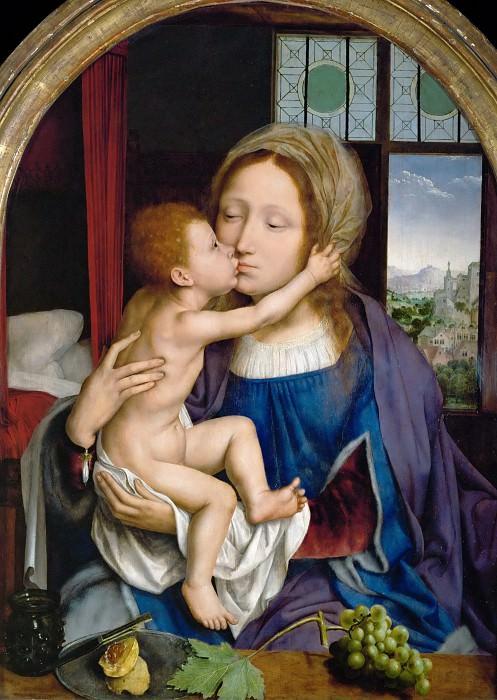 Quinten Metsys -- Madonna and Child. Part 4 Louvre