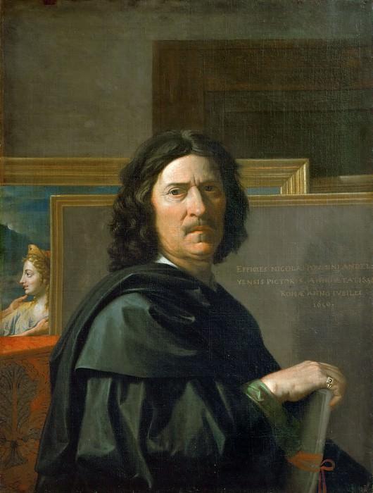 Self Portrait. Nicolas Poussin