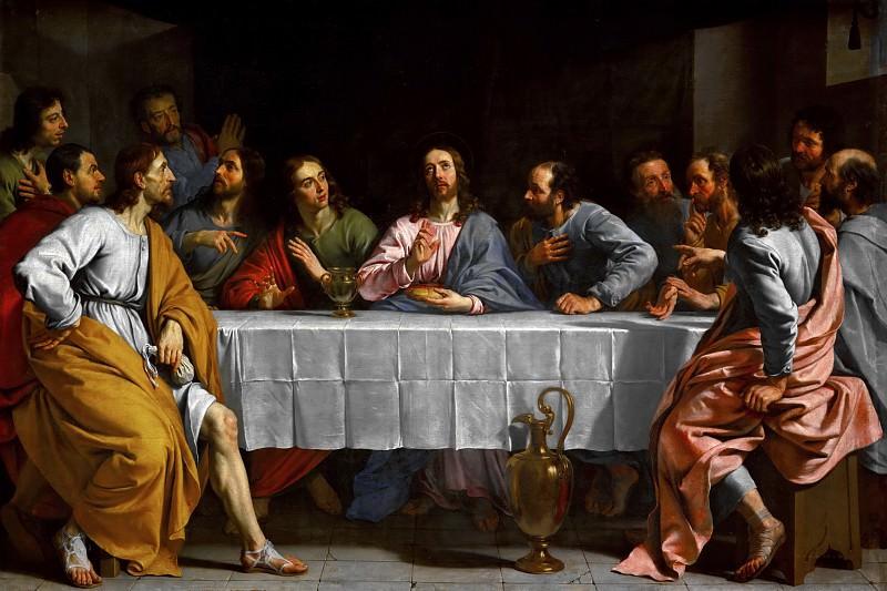 The Last Supper -- c. 1652. Part 4 Louvre