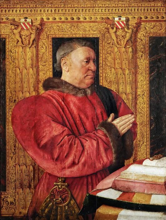 Jean Fouquet -- Guillaume Jouvenel des Ursins, Baron de Trainel and Chancellor of France. Part 4 Louvre