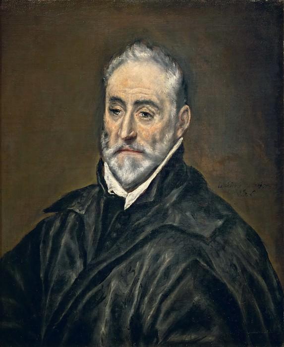 El Greco -- Antonio de Covarrubias. Part 4 Louvre