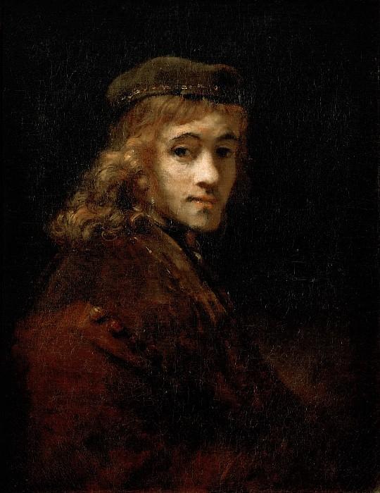 Рембрандт Харменс ван Рейн (1606 Лейден - 1669 Амстердам) -- Портрет Титуса. часть 4 Лувр