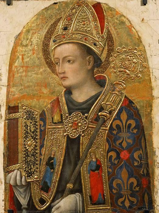 Antonio Vivarini -- Saint Louis de Toulouse. Part 4 Louvre