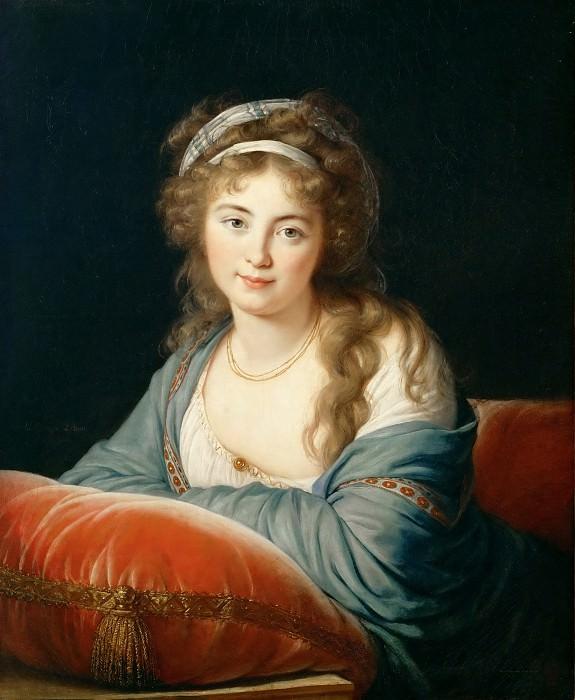 Виже-Лебрен, Луиза-Элизабет (Париж 1755-1842) -- Графиня Скавронская. часть 4 Лувр
