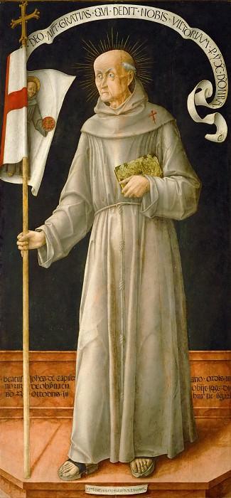 Bartolomeo Vivarini -- Saint John of Capistrano. Part 4 Louvre