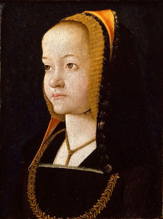 Перраль, Жан (ок1455-после1530) -- Женский портрет. часть 4 Лувр