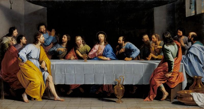 Шампень, Филипп де (1602 Брюссель - 1674 Париж) -- Тайная Вечеря. часть 4 Лувр