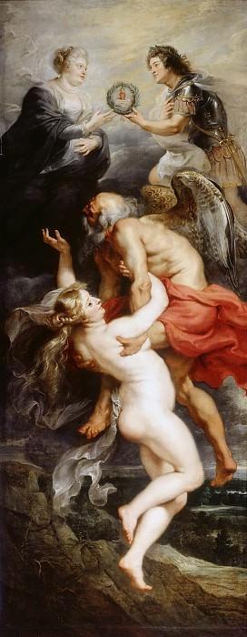 Peter Paul Rubens -- Triumph of Truth. Part 4 Louvre