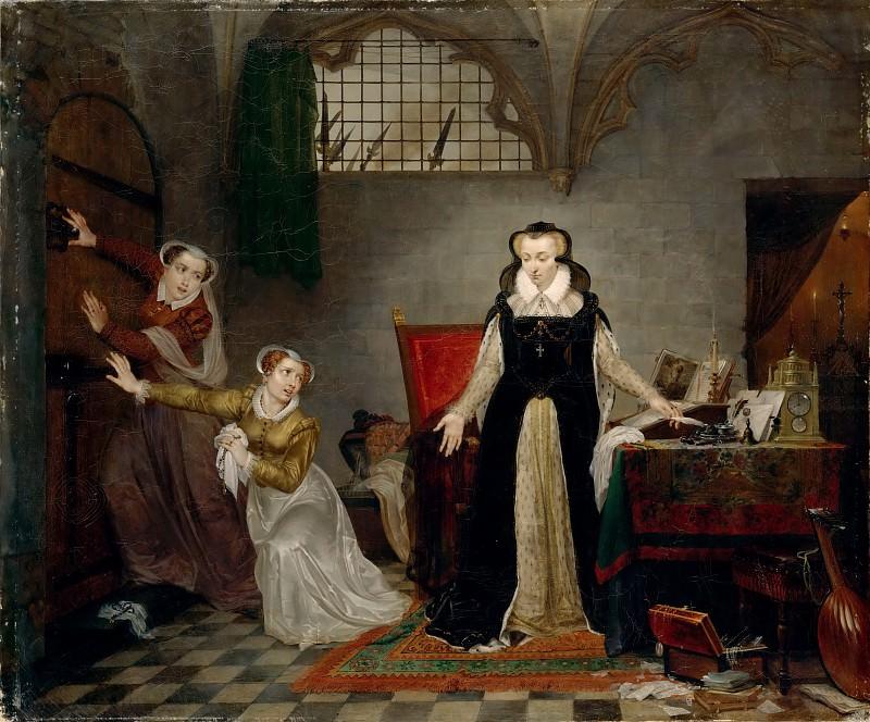 Бре, Матье-Игнас ван (1773-1839) -- Мария Стюарт перед казнью. часть 4 Лувр