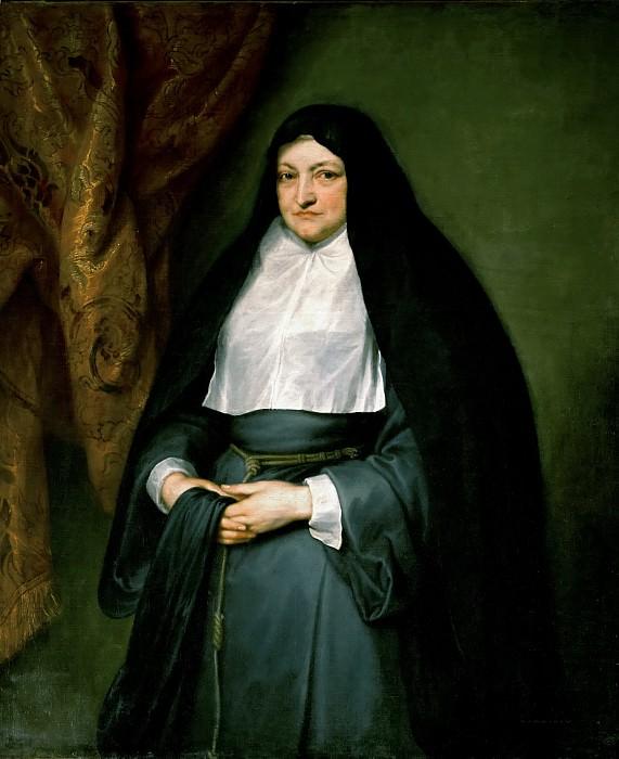 Anthony van Dyck -- Infanta Isabella Clara Eugenia (1566-1633). Part 4 Louvre