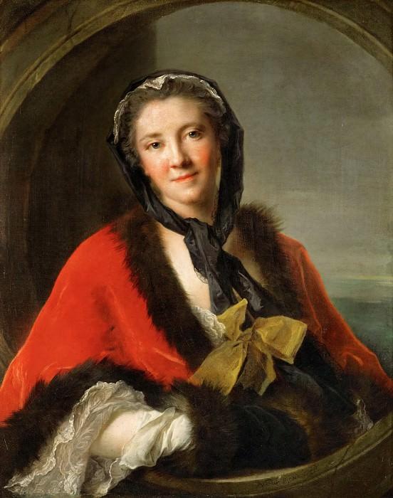Jean-Marc Nattier -- The Comtesse Tessin. Part 4 Louvre