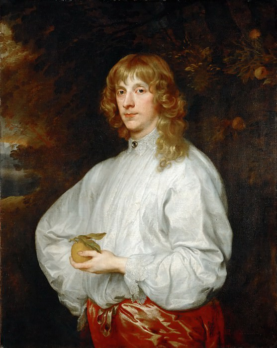 Anthony van Dyck -- James Stuart, 4th Duke of Lennox and 1st Duke of Richmond (1612-1655). Part 4 Louvre