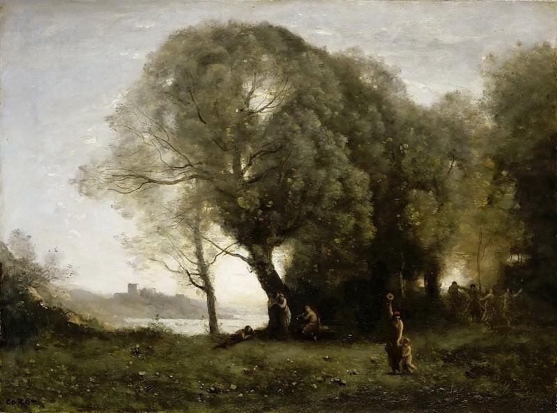 Jean-Baptiste-Camille Corot -- Danses virgiliennes. Part 4 Louvre