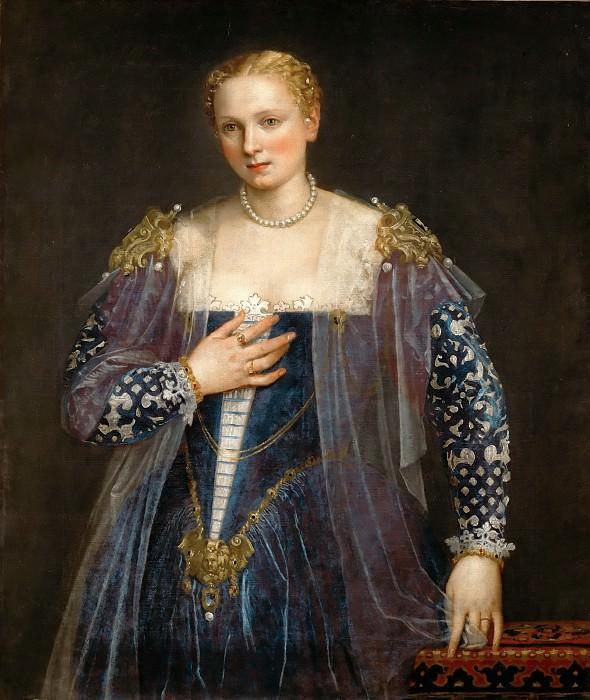 Paolo Veronese -- Portrait of a Venetian Woman, called La bella Nani. Part 4 Louvre