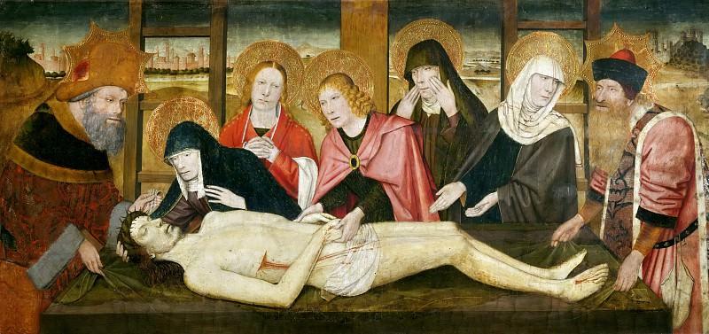 Jaime Huguet (1412-1492) -- Lamentation. Part 4 Louvre