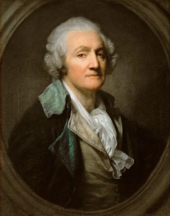 Грёз, Жан-Батист (1725 Турню - 1805 Париж) -- Автопортрет. Part 4 Louvre