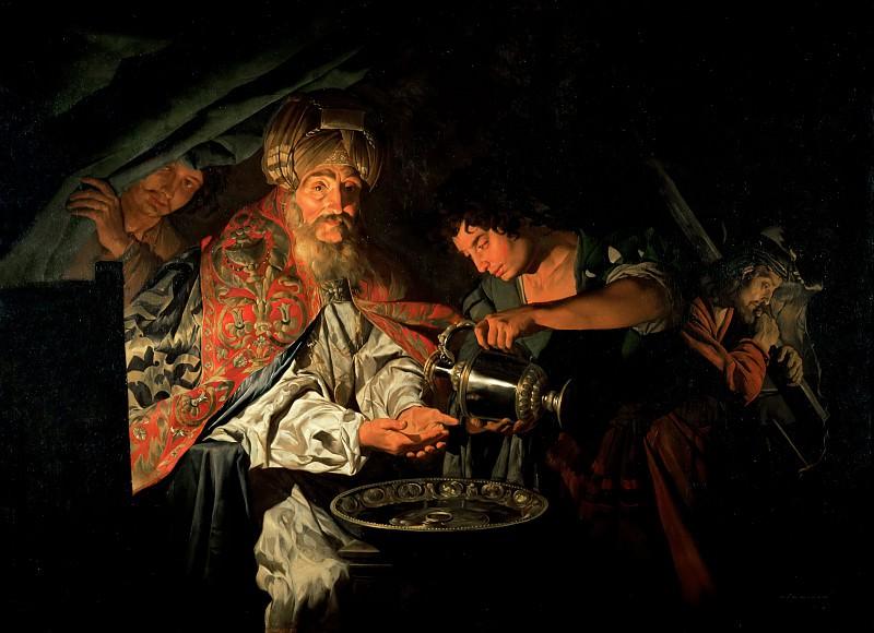 Стом, Маттиас (c.1600 Амерсфорт - п1650 Сицилия) -- Пилат, умывающий руки. Part 4 Louvre