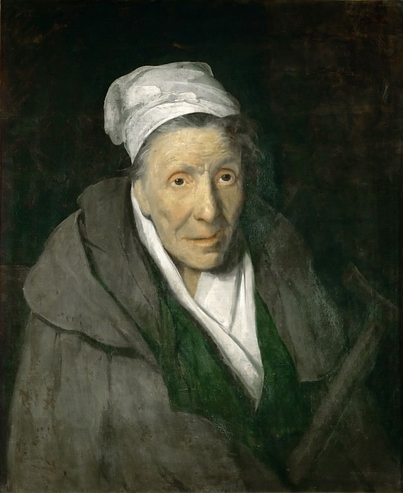 Théodore Géricault -- Woman with Gambling Mania. Part 4 Louvre