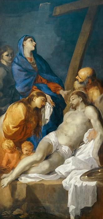 Бурдон, Себастьян (1616 Монпелье - 1671 Париж) -- Снятие с креста. часть 4 Лувр