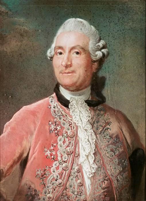 Attributed to Gustaf Lundberg -- Portrait of Monsieur de Vergennes. Part 4 Louvre