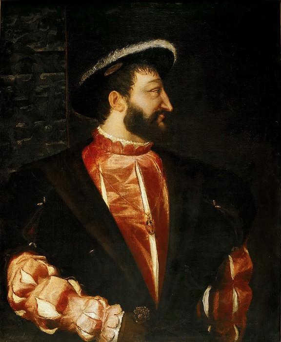 Portrait of Francis I. Titian (Tiziano Vecellio)