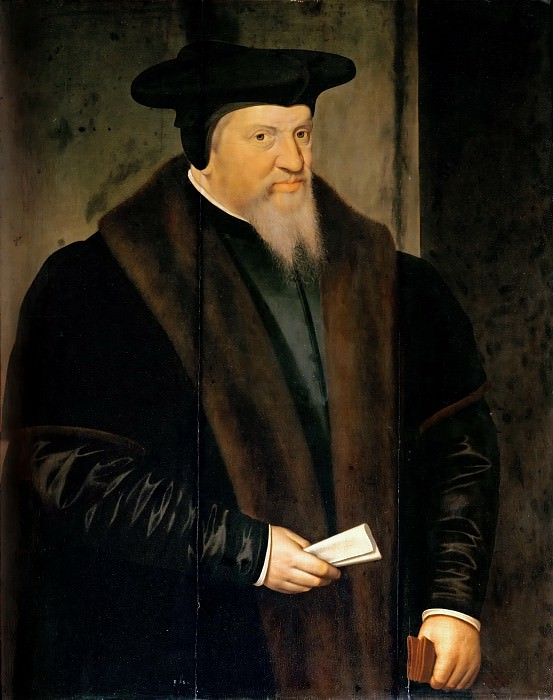 Frans Pourbus the Elder (1545-1581) -- Vigilius van Aytta (1507-1577). Part 4 Louvre