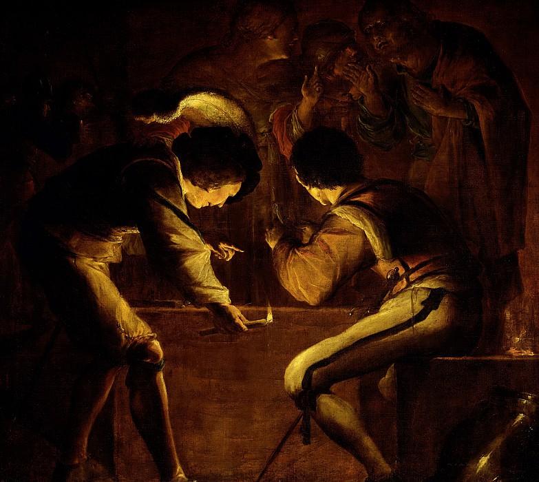 Леонарт Брамер -- Отречение Петра, 1642. Рейксмузеум: часть 3