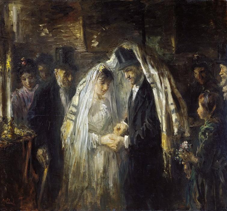 Israëls, Jozef -- Joodse bruiloft, 1903. Rijksmuseum: part 3