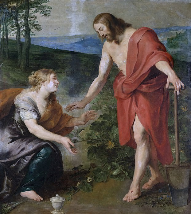 Питер Пауль Рубенс -- «Не прикасайся ко мне». Встреча Христа и Марии Магдалины, 1610-1690. Рейксмузеум: часть 3
