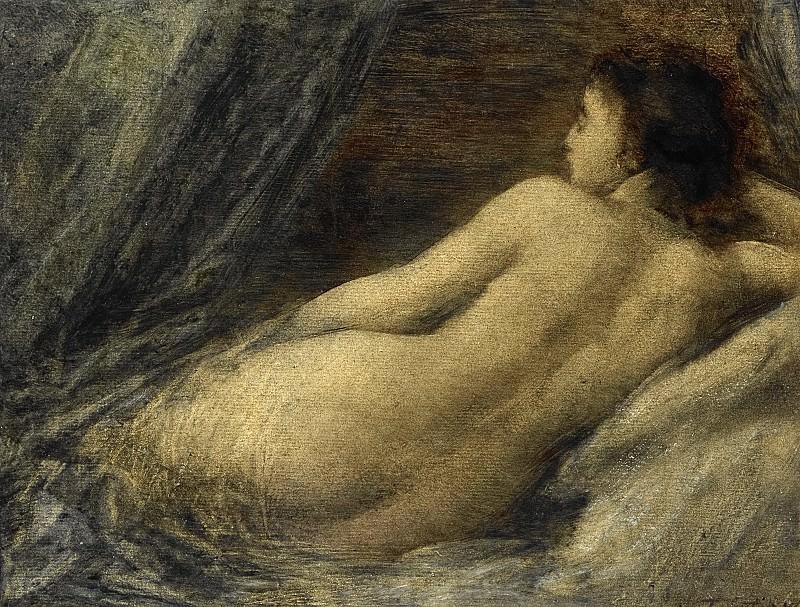 Fantin-Latour, Henri -- Liggende naakte vrouw, 1874. Rijksmuseum: part 3