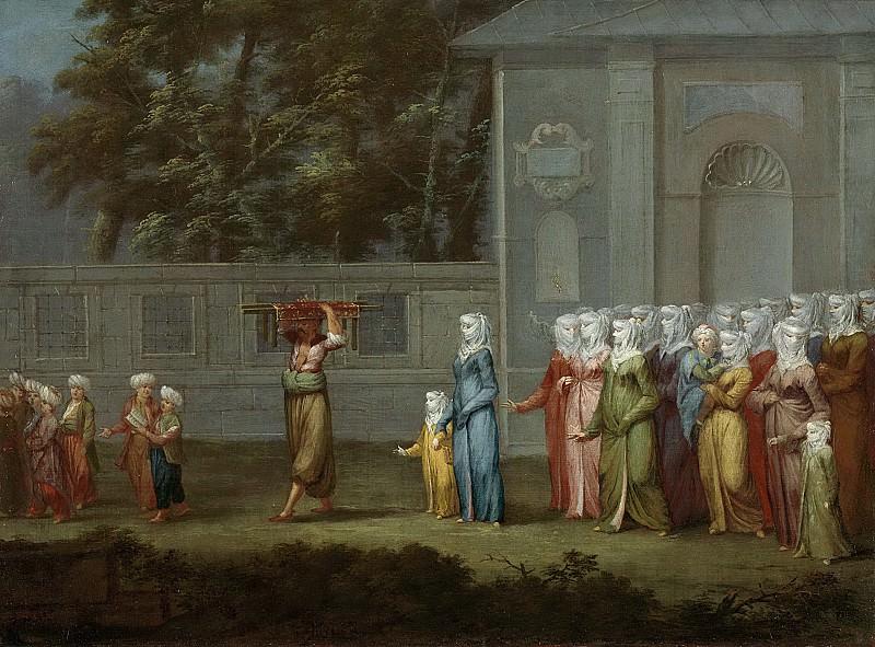 Ванмур, Жан Батист -- Первый день в школе, 1727-1737. Рейксмузеум: часть 3