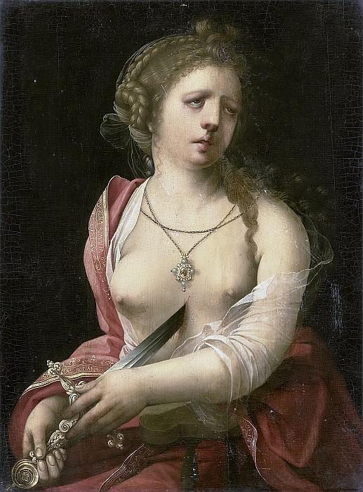 Meester met de Papegaai -- De zelfmoord van Lucretia, 1500-1525. Rijksmuseum: part 3