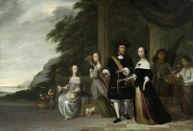 Coeman, Jacob -- Pieter Cnoll (gest. 1672). Eerste opperkoopman te Batavia, 1665. Rijksmuseum: part 3