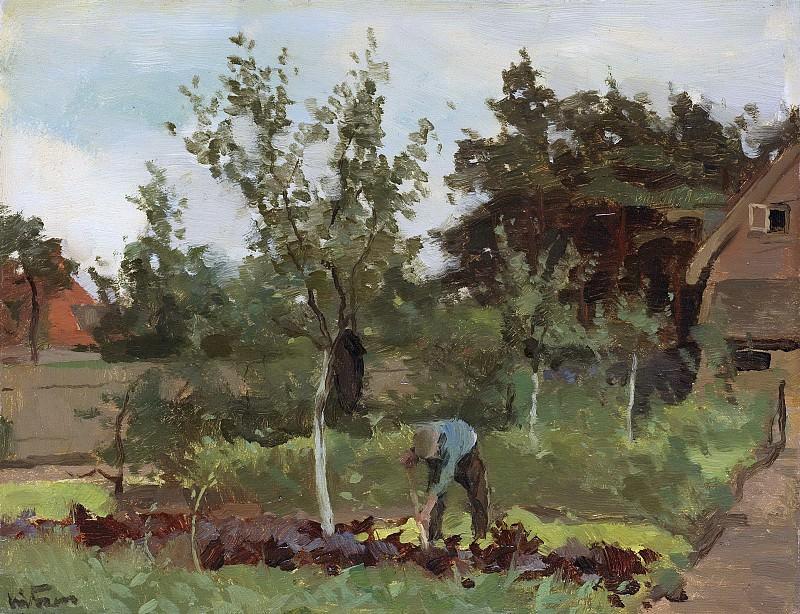 Виллем Витсен -- Заброшенный сад, 1885-1922. Рейксмузеум: часть 3