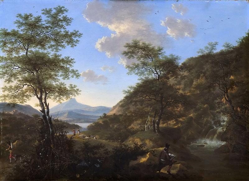 Виллем де Хёш -- Итальянский пейзаж и рисовальщик, 1650-1692. Рейксмузеум: часть 3