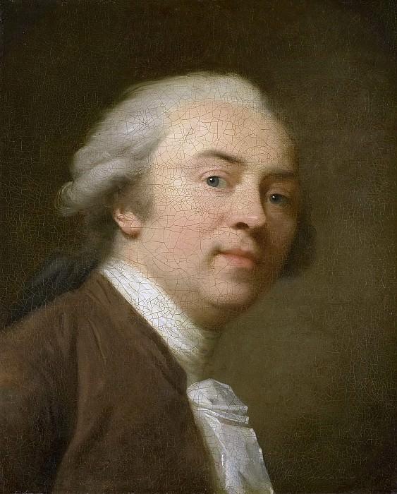 Tischbein, Johann Friedrich August -- Zelfportret, 1782. Rijksmuseum: part 3