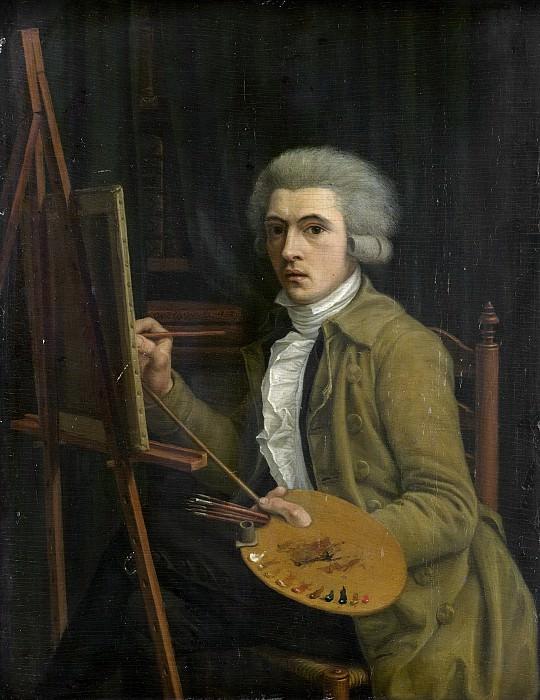 Uppink, Willem -- Portret van een schilder, vermoedelijk de kunstenaar zelf, 1788. Rijksmuseum: part 3