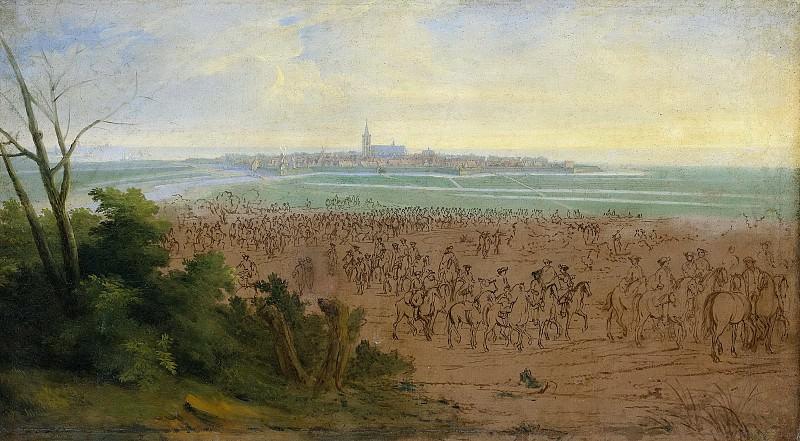 Meulen, Adam Frans van der -- De troepen van Lodewijk XIV voor Naarden, 20 juli 1672, 1672-1690. Rijksmuseum: part 3