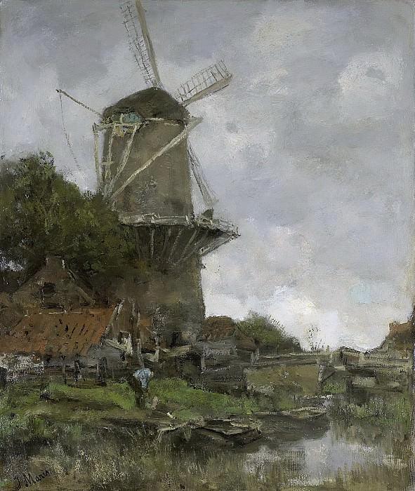 Maris, Jacob -- De molen, 1880-1886. Rijksmuseum: part 3
