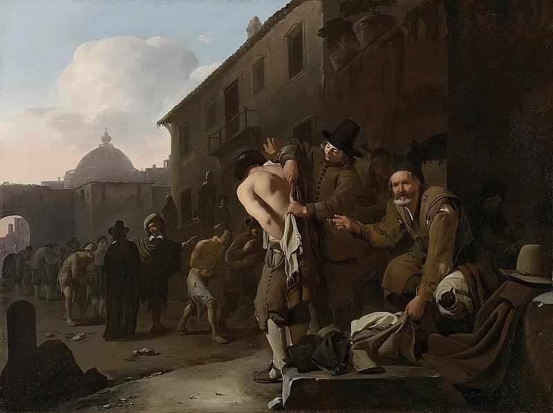 Sweerts, Michael -- De naakten kleden, 1646-1652. Rijksmuseum: part 3
